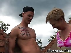 old and young porn videos - sexy ass babe
